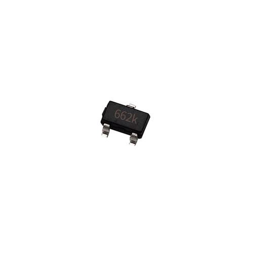 Чіп XC6206P332MR 662K SOT23, стабілізатор напруги 3.3 0.5 А