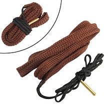 Протяжка шнур змейка для чистки ствола оружия 17, 177 калибра 4.5мм
