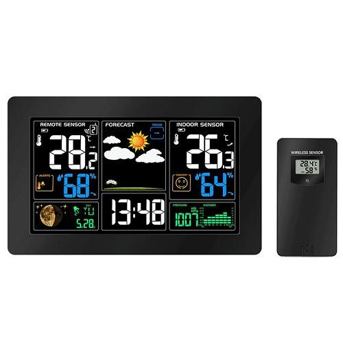 Метеостанція з барометром и РК, бездротовій виносний датчик, PT3378, USB