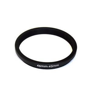 Понижающее степ кольцо 46-43мм для Canon, Nikon