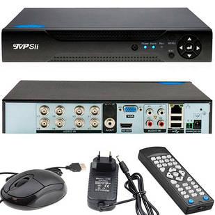 Відеореєстратор HVR NVR DVR TVPSii 6008T-MH, AHD-H 1080P, 8 каналів