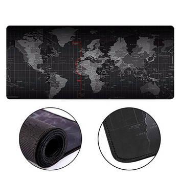 Игровая поверхность, большой коврик для мышки игровой 90х40см Карта Мира