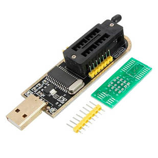 USB міні програматор CH341A 24 25 FLASH 24 EEPROM