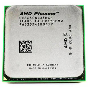 Процессор AMD Phenom X3 8650, 3 ядра, 2.3ГГц, AM2+