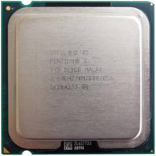 Процессор Intel Pentium D 945, 2 ядра, 3.4ГГц, LGA 775