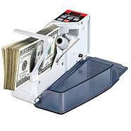Счетчик банкнот купюр портативный, машина для пересчета EU-V40, фото 2