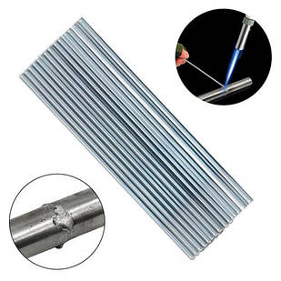 Припой для пайки сварки алюминия, 50шт 50см 2.4мм пруток c флюсом