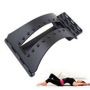 Тренажер мостик для спины позвоночника, 3 уровня Magic Back Support