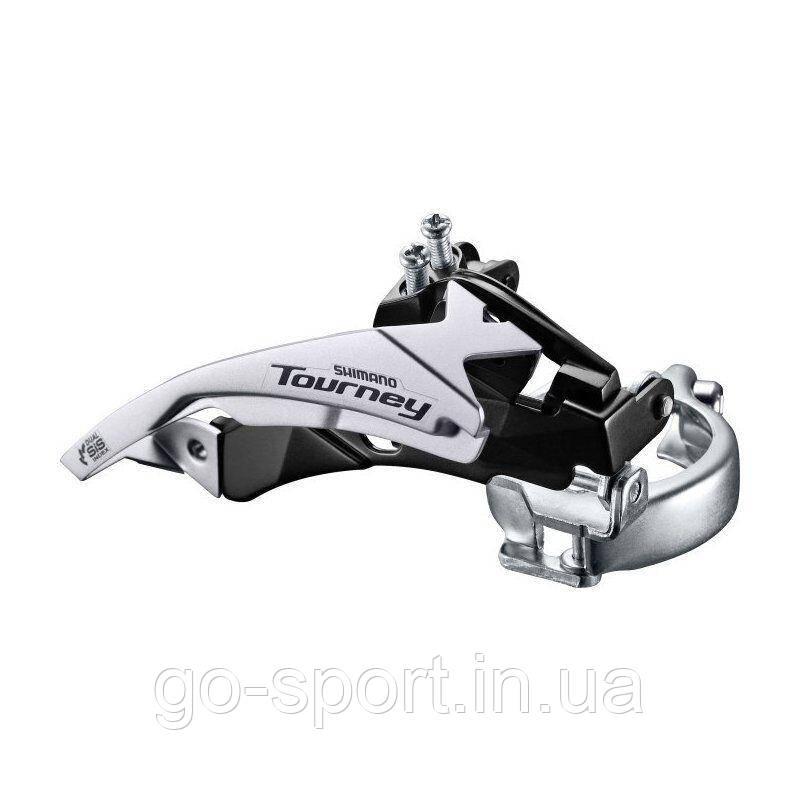Переключатель передний Shimano Tourney FD-TY500 Top Swing / Dual Pull 3x7 spd - 42T