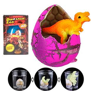 Діно інкубатор 11.5х8см растішка яйце динозавра зростаючий динозавр