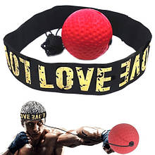 Тренажер мяч для бокса Fight Ball Файт Болл, мячик на резинке