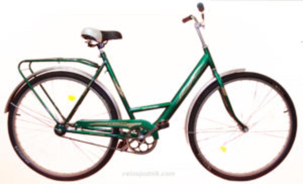 Велосипед Спутник усиленная рама 28 (Ж) (метал. защита цепи)