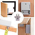 Электронный скрытый RFID замок с 2 ключами для шкафчиков и мебели, фото 2