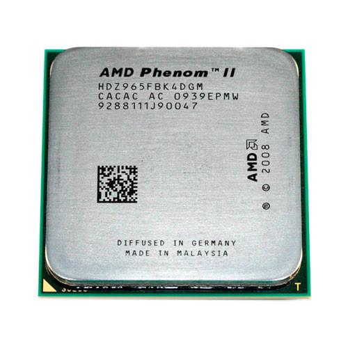 Процессор AMD Phenom II X4 965, 4 ядра, 3.4ГГц, AM3
