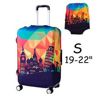 """Чехол для дорожного чемодана на чемодан защитный 19-22"""" S"""