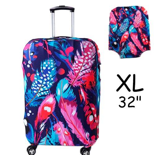 """Чехол для дорожного чемодана на чемодан защитный 32"""" XL"""