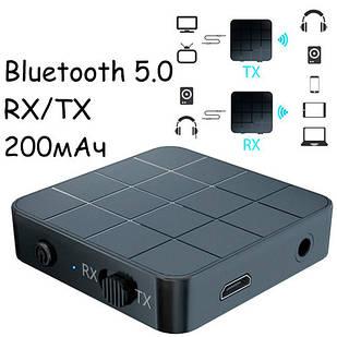 Bluetooth 5.0 мини аудио приемник передатчик звука 200мАч VIKEFON KN321
