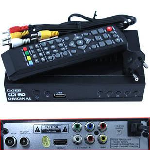 ТВ ресивер DVB-T2 HD цифровой эфирный приемник тюнер 1080p HDMI USB