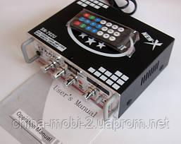 Усилитель  ресивер  UKC SN-702U MP3 SD USB AUX FM 12v   220v, фото 3