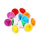 Игрушка сортер развивающая для детей яйца пазлы, 6 штук, фото 2