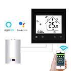 Терморегулятор Wi-Fi для газового котла 220В 3А BHT-002-GCLW, черный, фото 2