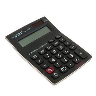 Калькулятор настольный офисный 15х10см 12-разрядный KADIO KD-3851B