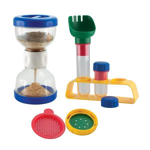 Комплект для игр с песком Edu-Toys Песочные часы (JS007)