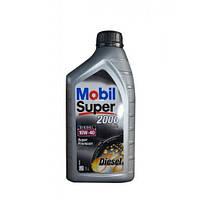 Моторное полусинтетическое масло MOBIL Super Diezel 10W-40 1L (ACEA A3/B3, VW 501.01/505.00, MB 229.1)