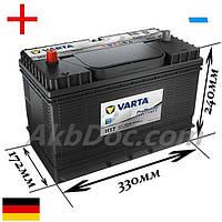 Varta 105Aч 800А Promotive Heavy Duty H17 / 605 102 080 (+/-)
