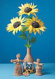 Квіти з гофрованого паперу, фото 3