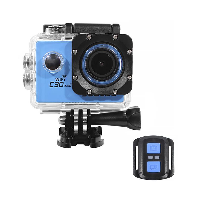 Экстремальная экшн-камера SOOCOO C30 Blue Ultra HD 4K SONY IMX 1350mAh