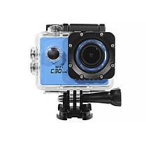 Экстремальная экшн-камера SOOCOO C30 Blue Ultra HD 4K SONY IMX 1350mAh, фото 2