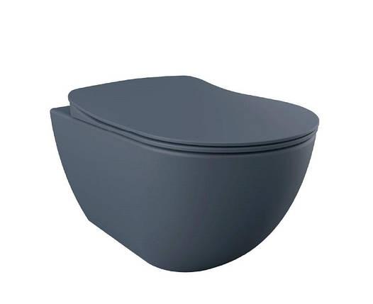 FREE Унитаз подвесной (базальт матовый) FE320.20100, без сидения, фото 2