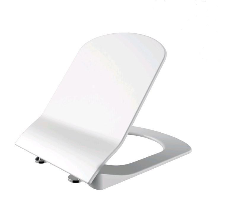 ELEGANT Кришка з сидінням Duroplast, з механізмом soft-close, біла .KC5030.00