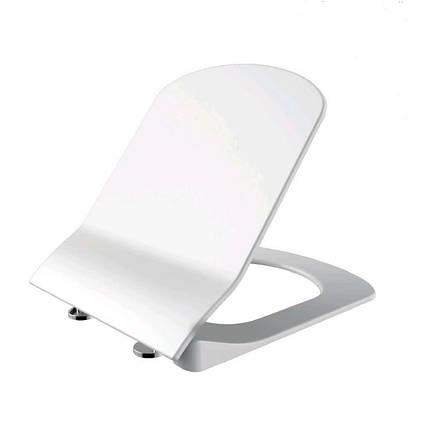 ELEGANT Кришка з сидінням Duroplast, з механізмом soft-close, біла .KC5030.00, фото 2