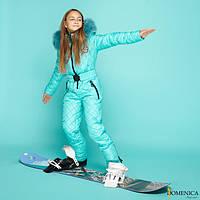 Детские зимние лыжные комбинезоны