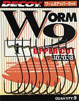 Крючок Decoy Worm9 Upper Cut #1/0 (9 шт/уп)