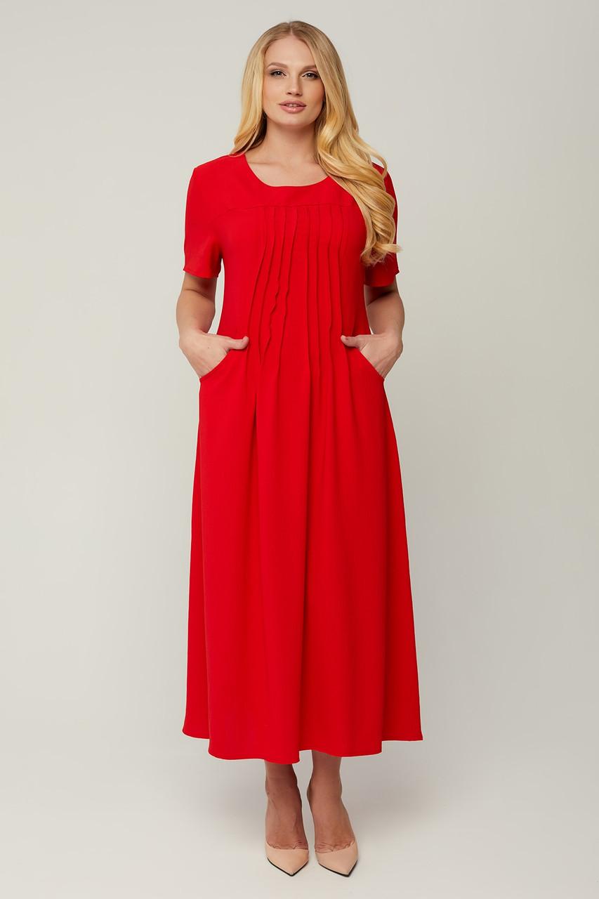 Женское летнее платье батал