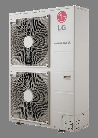Зовнішній блок теплового насоса 12 кВт (3ф.)