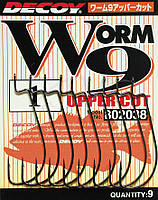 Крючок Decoy Worm9 Upper Cut #4/0 (6 шт/уп)