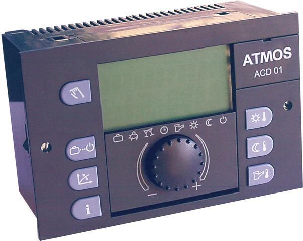 Эквитермальный регулятор ACD01 с датчиками