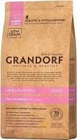 Сухой корм Грандорф для щенков Grandorf Puppy с ягненком и рисом 12 кг