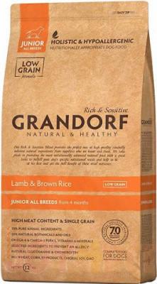 Корм Холистик Grandorf (Грандорф) Junior для щенков с ягненком и рисом 12 кг, фото 2