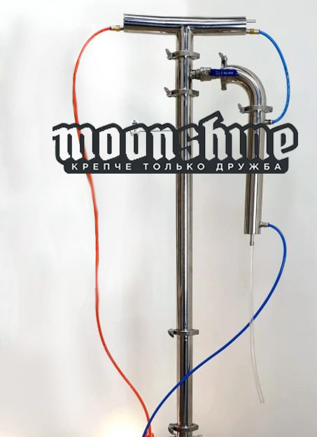 Ректификационная колонна Moonshine Прима Тора  фланец 2