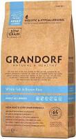 Корм Grandorf (Грандорф) для взрослых собак с белой рыбой и рисом 12 кг