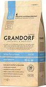 Grandorf (Грандорф) Sensitive корм для кошек с белой рыбой и рисом 0,4 кг