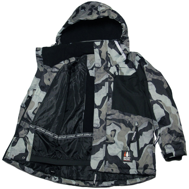 зимняя термокуртка мембрана для мальчика
