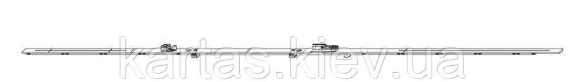 MACO 209670 Штульповый запор вариационный 2 цапфы FF 1251-1750