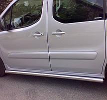 Подножки, Трубы на Opel Combo (c 2018--) Опель Комбо PRS