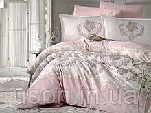 Комплект постельного белья  Clasy сатин размер полуторный Adra V1